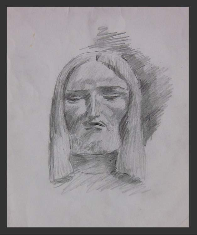 Christ - Pencil Sketch