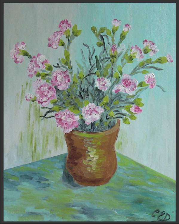 Pinks - an Oil Painting